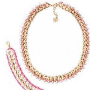 Plunder Posse necklace and bracelet set.